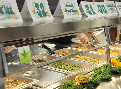 School Lunch Veggies